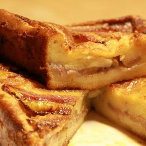 Bánh khoai mì chuối