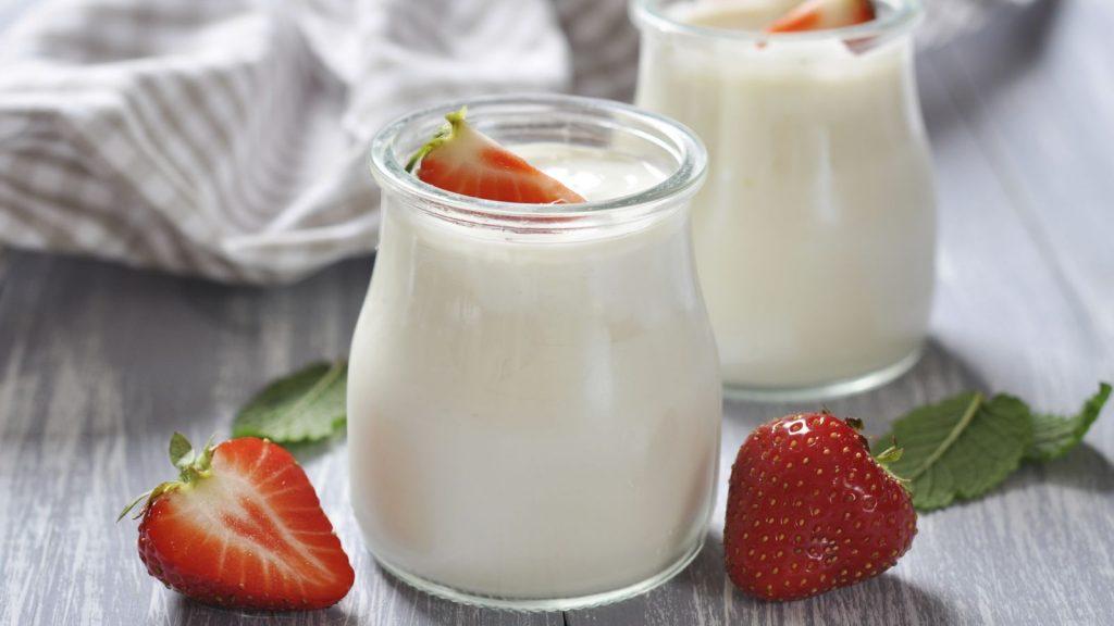 Sữa chua kích thích trí não trẻ