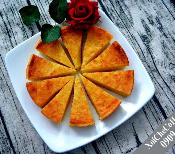 Bánh khoai mì nướng ngon